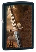 Широкая зажигалка Zippo Sword Of War 28305