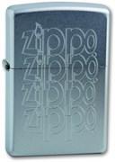 Широкая зажигалка Zippo LOGO 205