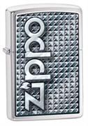 Широкая зажигалка Zippo 3D Abstract 28280
