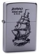 Широкая зажигалка Zippo Boat-Zippo 205