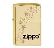 Широкая зажигалка Zippo Stars 254B