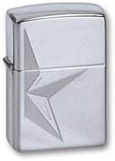Широкая зажигалка Zippo HALF STAR 250