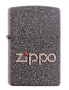 Широкая зажигалка Zippo SNAKESKIN ZIPPO LOGO 211