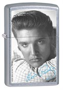 Широкая зажигалка Zippo Elvis 28629