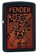 Широкая зажигалка Zippo Fender 28733