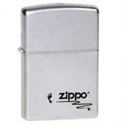 Широкая зажигалка Zippo Footprints 205