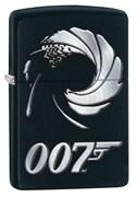 Широкая зажигалка Zippo James Bond 29566