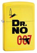 Широкая зажигалка Zippo James Bond 29565