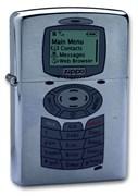 Широкая зажигалка Zippo Phone 200