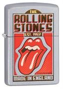 Широкая зажигалка Zippo Rolling Stones 29127