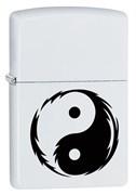 Широкая зажигалка Zippo Yin Yang 29544
