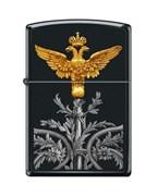 Широкая зажигалка Zippo RUSSIAN COAT OF ARMS 218