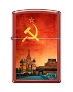 Широкая зажигалка Zippo SOVIET DESIGN 233
