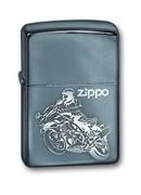 Широкая зажигалка Zippo Moto 150