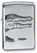 Широкая зажигалка Zippo Alligator 200