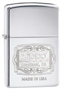 Зажигалка Zippo Classic с покрытием High Polish Chrome 29521