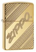 Зажигалка Zippo Armor® с покрытием High Polish Brass, 29625