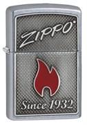 Зажигалка Zippo Classic с покрытием Street Chrome, 29650