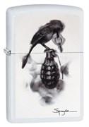 Зажигалка Zippo Classic с покрытием White Matte, 29645