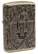 Зажигалка Zippo Armor® с покрытием Antique Brass, 29719