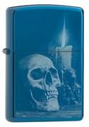 Зажигалка Zippo Classic с покрытием High Polish Blue, 29704