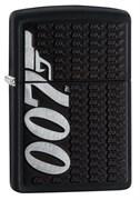 Зажигалка Zippo James Bond с покрытием Black Matte, 29718