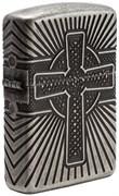 Зажигалка Zippo Armor® с покрытием Antique Silver, 29667