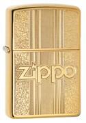 Зажигалка Zippo Classic с покрытием High Polish Brass, 29677
