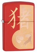 Зажигалка Zippo Classic с покрытием Red Matte, 29661