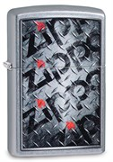 Зажигалка Zippo Diamond с покрытием Street Chrome™, 29838