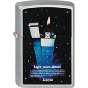 Широкая зажигалка Zippo Light 205