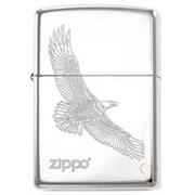 Широкая зажигалка Zippo Large Eagle 279