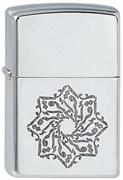 Широкая зажигалка Zippo Arabic Style 4 252