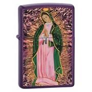 Широкая зажигалка Zippo Blessed Mother 24350