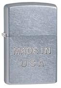 Широкая зажигалка Zippo Made In USA 28491