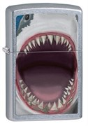 Широкая зажигалка Zippo Shark Teeth 28463