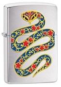 Широкая зажигалка Zippo Snake 28456