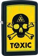 Широкая зажигалка Zippo Toxic 28310