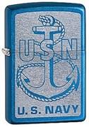 Широкая зажигалка Zippo US Navy 28580