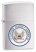 Широкая зажигалка Zippo US Seal 24347