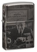 Зажигалка Zippo George Blaisdell с покрытием Black Ice® 49134