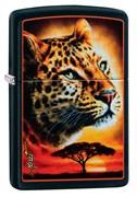 Зажигалка Zippo Mazzi® с покрытием Black Matte 49068