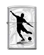 Зажигалка Zippo Футболист с покрытием Street Chrome™ 207_football