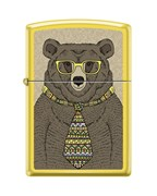 Зажигалка Zippo Медведь с покрытием Lemon™ 24839_bear