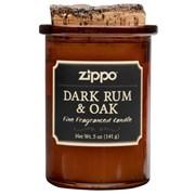 Ароматизированная свеча Zippo Dark Rum & Oak 70016