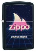 Зажигалка ZIPPO Black Matte 49115