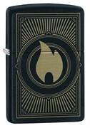 Зажигалка ZIPPO Black Matte 49217