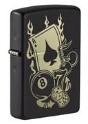 Зажигалка ZIPPO Gambling Design 49257_DBL4904