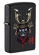 Зажигалка ZIPPO Samurai Helmet Design 49259_DBL4904