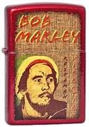 Зажигалка широкая Zippo Bob Marley 21063